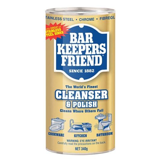 Bar Keepers Friend Cleanser & Polish 340g