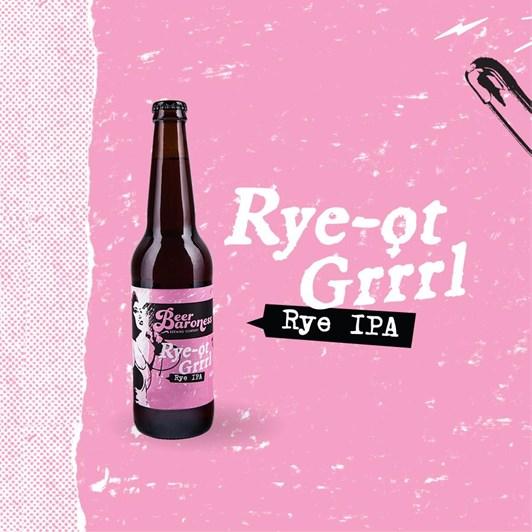Rye-Ot-Grrrl Rye IPA 6.4% 500ml