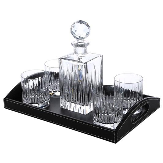 Lenox Soho Bar Set - Decanter, 4 DOF and Tray
