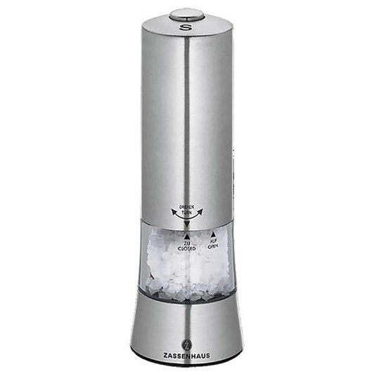 Zassenhaus Electric Salt Grinder 18cm