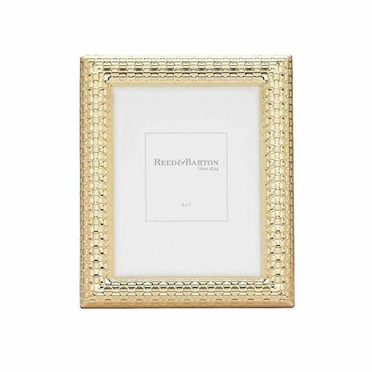 Reed & Barton Gold Frame Watchband 5x7
