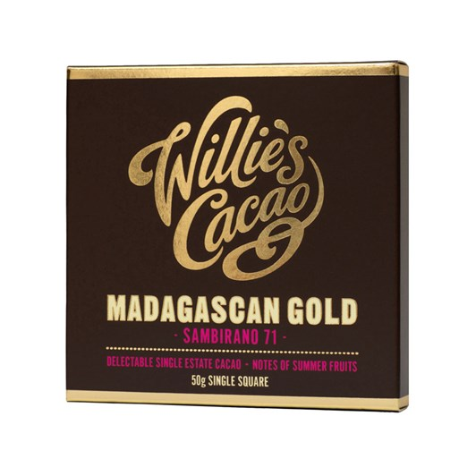 Willie's Single Origin Chocolate Bar 50g
