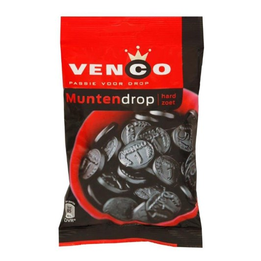 Venco Dutch Licorice Coins  168g