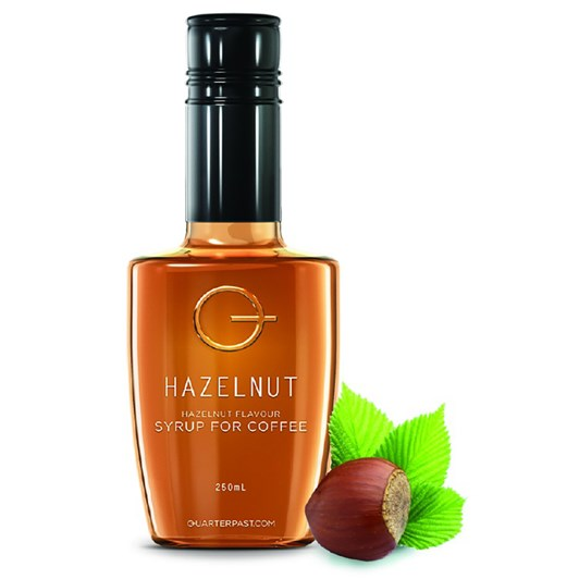 QuarterPast Hazelnut Syrup 250ml