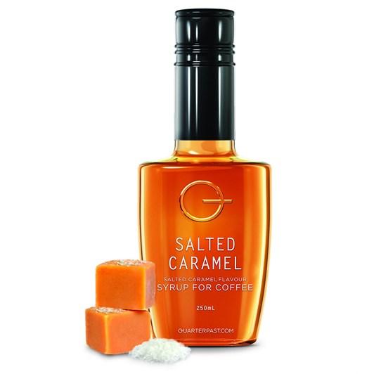 QuarterPast Salted Caramel Syrup 250ml