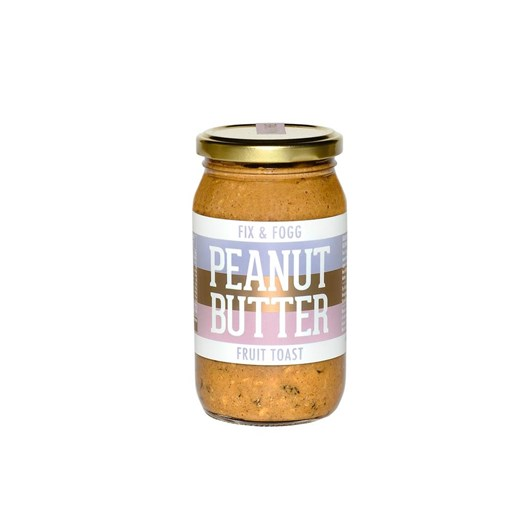 Fix And Fogg Fruit Toast Peanut Butter 375g