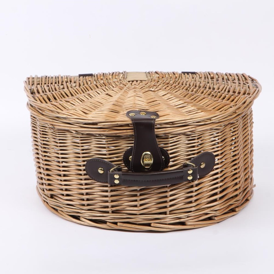Semi Circle Carry Hamper 40.5cm x 28cm x 25cm - na
