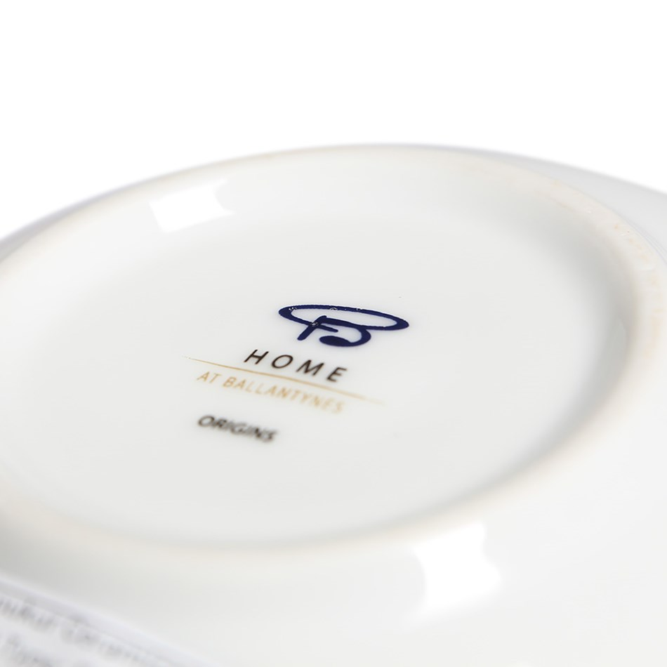 Home By Ballantynes Coupe Dinner Plate 27cm -