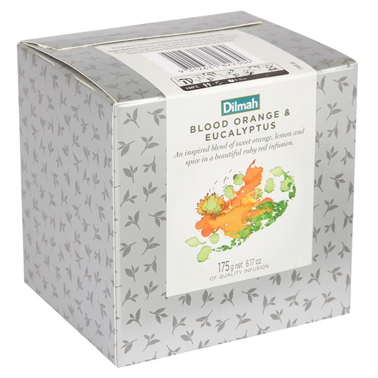 Dilmah Vivid Refill Box Blood Orange & Eucalyptus 175g