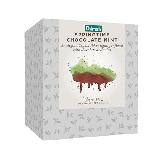 Dilmah Vivid Refill Box Springtime Choc Mint 100g