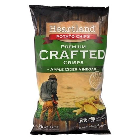 Heartland Apple Cider Vinegar Potato Chips 150g