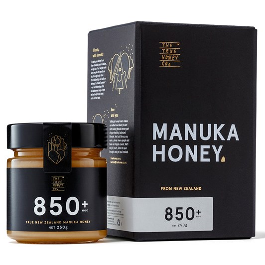 The True Honey Co Manuka Honey MGO 850 250g