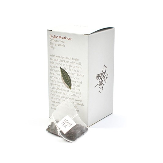 Love Tea English Breakfast Pyramid 20