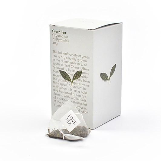 Love Tea Green Tea Pyramid 20