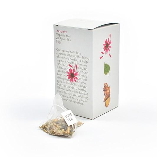 Love Tea Immunity Pyramid 20