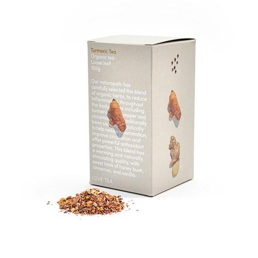 Love Tea Turmeric Tea Leaf Box 100g