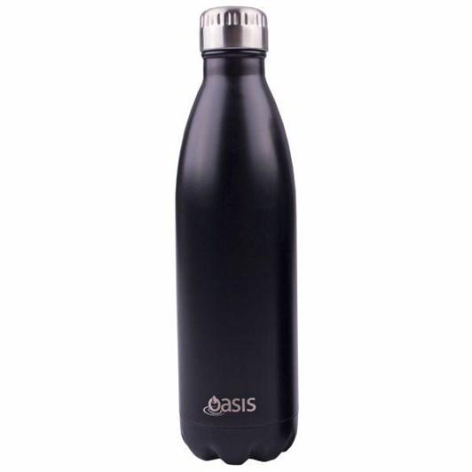 D.Line S/S Drink Bottle 750ml - Matt Black