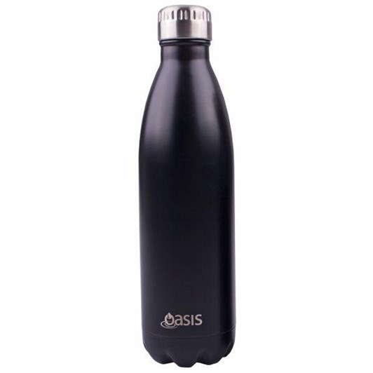 D.Line S/S Drink Bottle 750ml - Matt Black