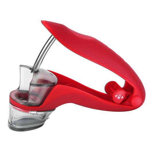 Zyliss Cherry/Olive Pitter