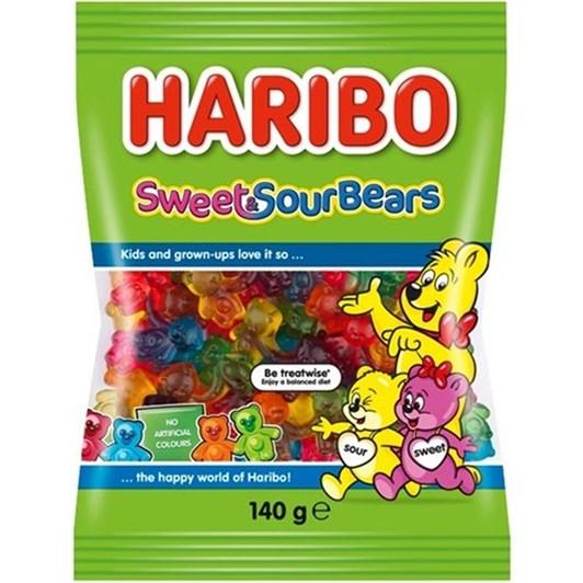 Haribo Sweet & Sour Bears 140g