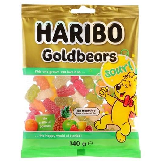 Haribo Goldbears Sour 140g