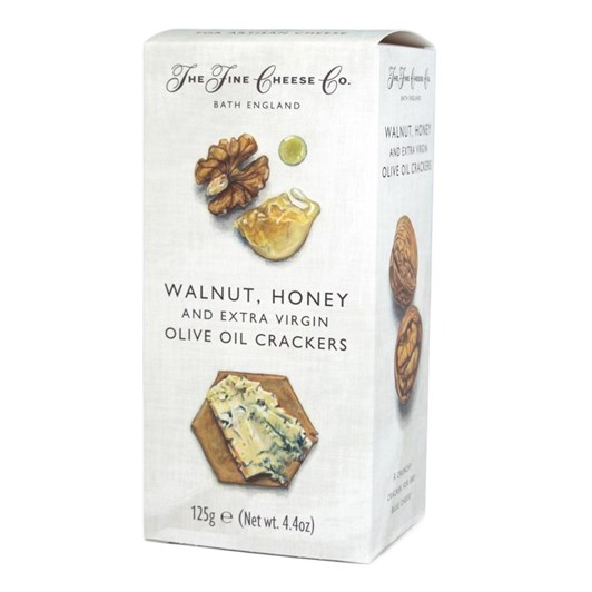 The Fine Cheese Co. Walnut Honey & Extra Virgin Olive Oil Crackers 100g
