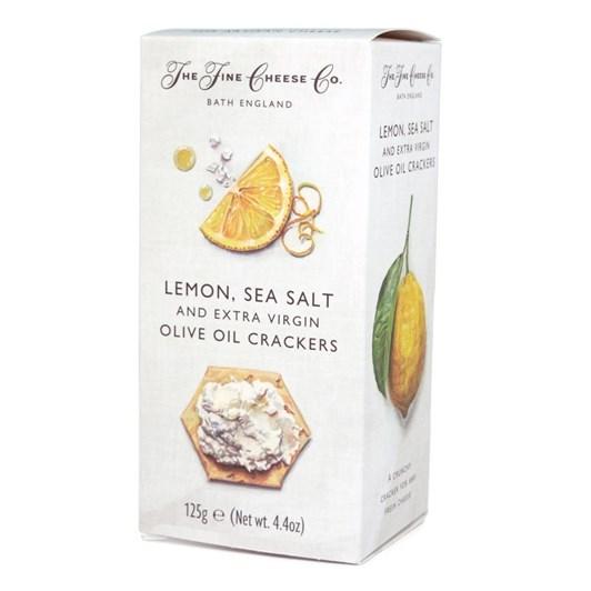 The Fine Cheese Co. Lemon, Sea Salt & Extra Virgin Olive Oil Crackers 100g