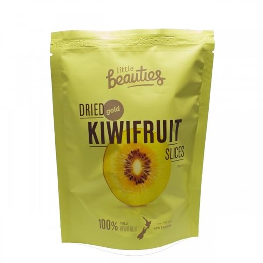 Little Beauties Dried Gold Kiwifruit Slices 50g