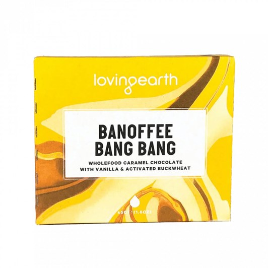 Loving Earth Banoffee Bang Bang 45g