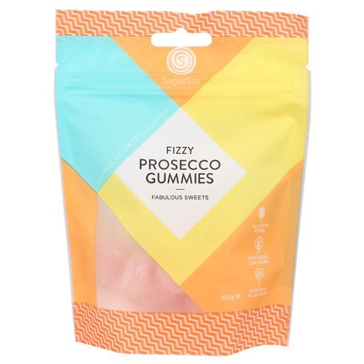 Sugar Sin Gummie Fizzy Prosecco Bag 100g