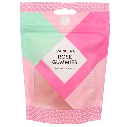 Sugar Sin Gummie Rose Prosecco Bag 100g