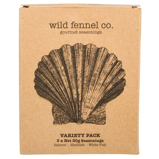Wild fennel co. Fish Seasoning Variety Pack 3x30g