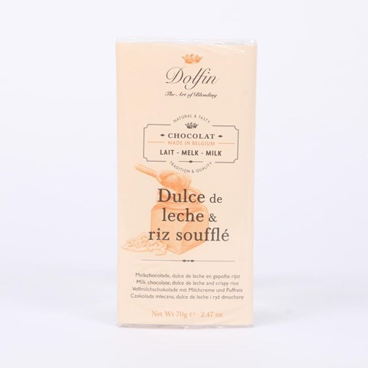 Milk with Dulce de Leche and Crispy Rice 70g