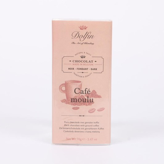 Dolfin Dark 60% with Ground Coffee 70g