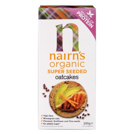 Nairn's Organic Super Seeded Oatcakes 200g