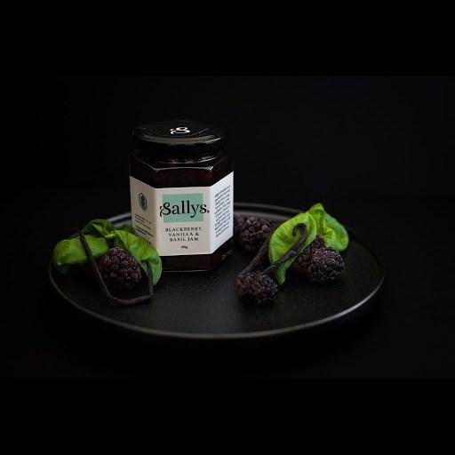 Sallys Blackberry Vanilla & Basil Jam