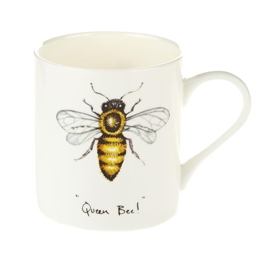 Orchid Queen Bee Fine Bone China Mug
