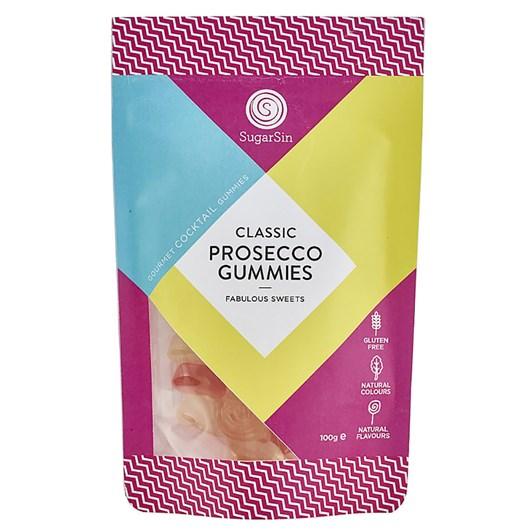 Sugar Sin Prosecco Gummie Bag 100g