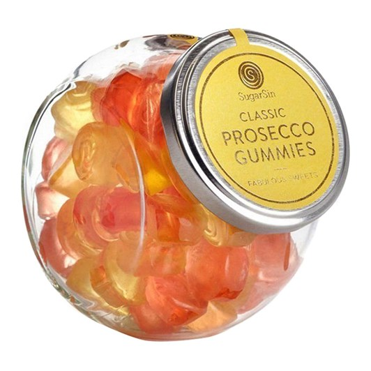 Sugar Sin Prosecco Gummie In Glass Jar 280g
