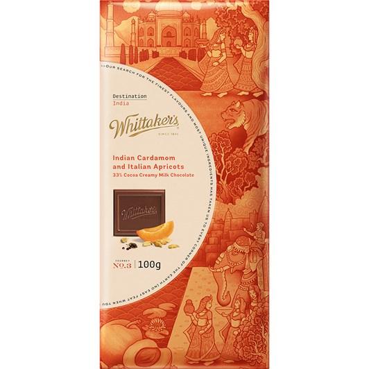 Whittaker's Destination India 100g