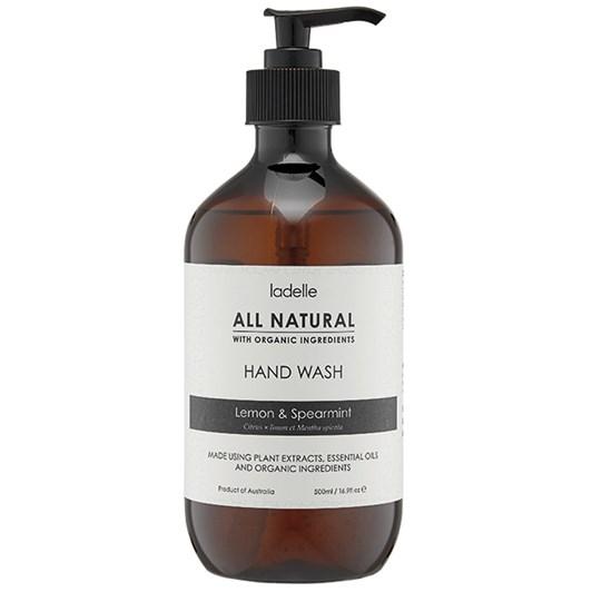 Ladelle All Natural Hand Wash Lemon & Spearmint 500ml