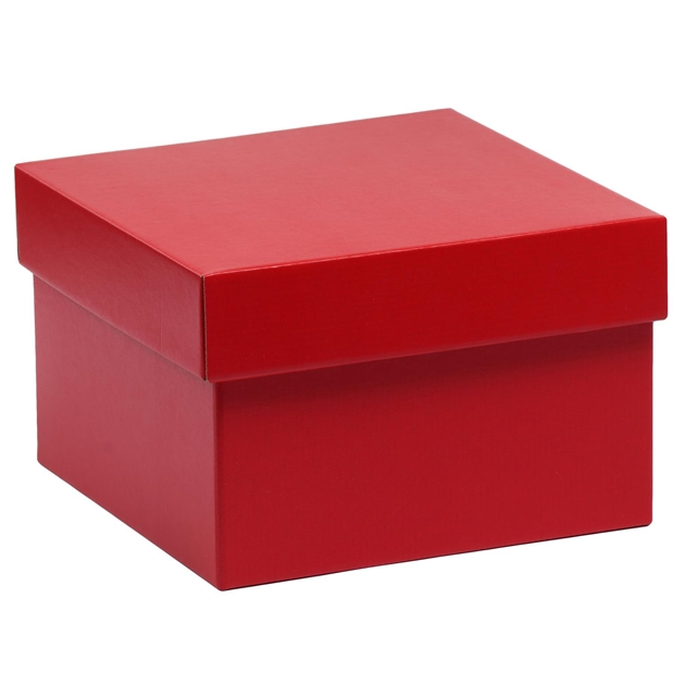 Box & Lid Set Red 290 x 290 x 160 - red