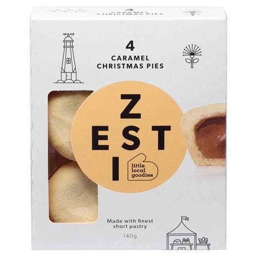 Tasman Bay Zesti Caramel Pies 4 Pack