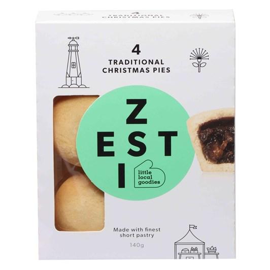 Tasman Bay Zesti Christmas Mince Pies 4 Pack