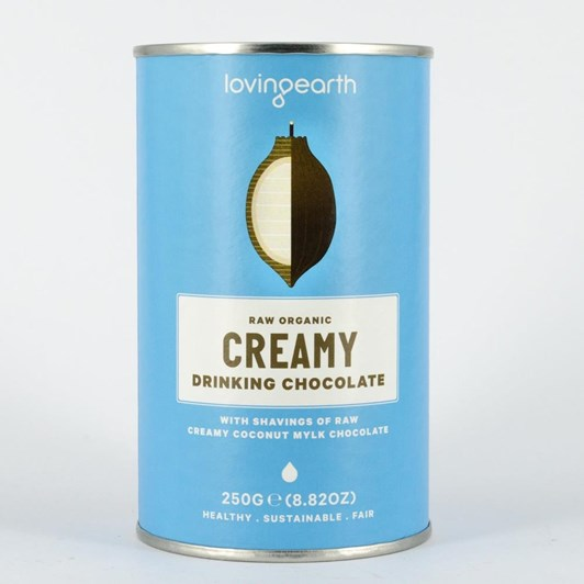 Loving Earth Creamy Drinking Chocolate 260g