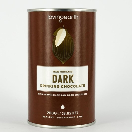 Loving Earth Dark Drinking Chocolate 260g