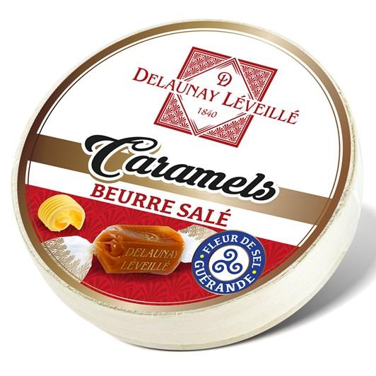 Delaunay Salted Caramels Box Camembert 75g