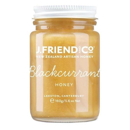 NZ Artisan Blackcurrant Honey 160g