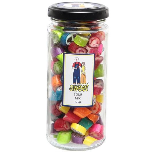 Sweet Sour Mix Jar