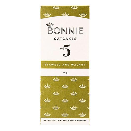 No.5 Bonnie Oatcakes Seaweed & Walnut 180g